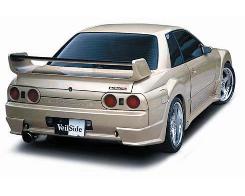 VeilSide 1989-1994 Nissan Skyline GTR JDM BNR32 E-IV Model Rear Wing  (FRP & CARBON)