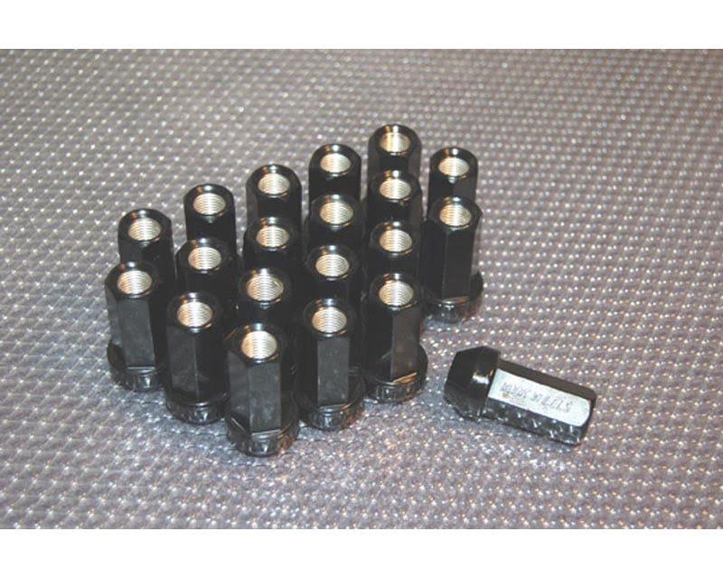 Work Wheels RS-Z M12x1.50 Black Lug Nuts